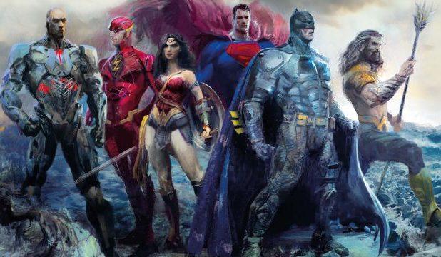 Justice League concept art book