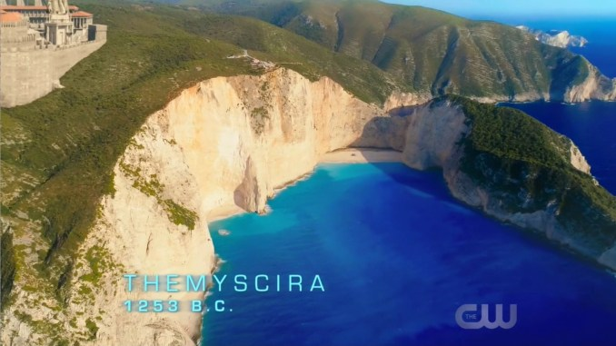 Themyscira on DC's Legends of Tomorrow
