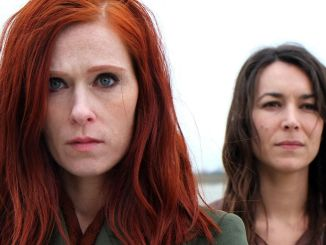 Audrey Fleurot and Marie Dompnier in season 2 of Les témoins (Witnesses)