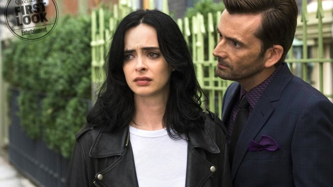 Marvel's Jessica Jones - Krysten Ritter and David Tennant