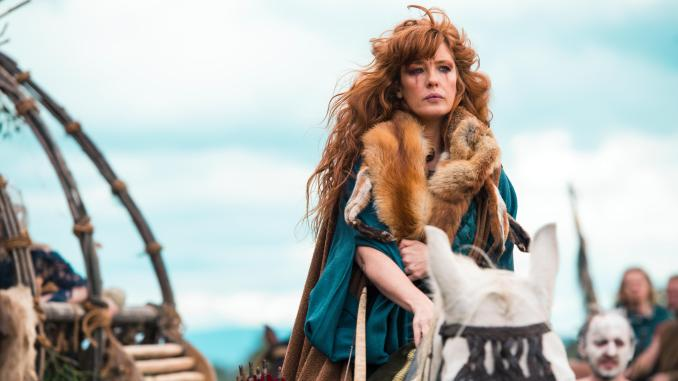 Kelly Reilly in Sky Atlantic's Britannia