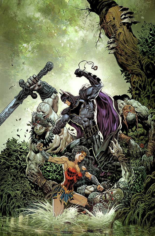 Liam Sharp's Brave and the Bold