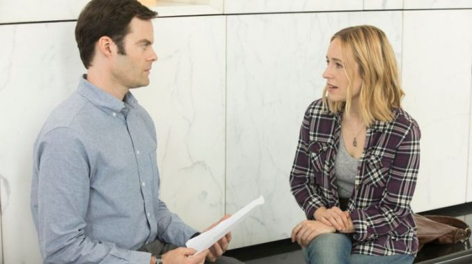 Bill Hader and Sarah Goldberg in HBO's Barry