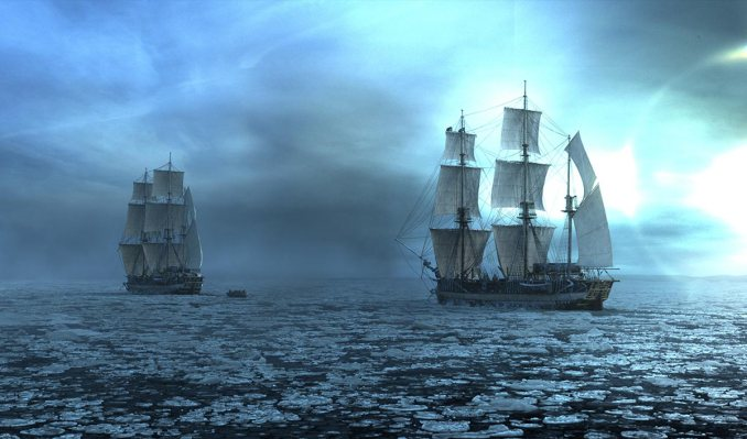 The Terror and the Erebus