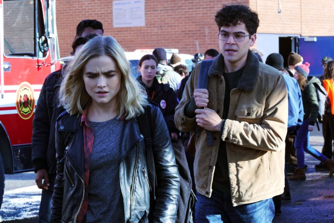 Maddie Hasson and Daniel Maslany in Impulse