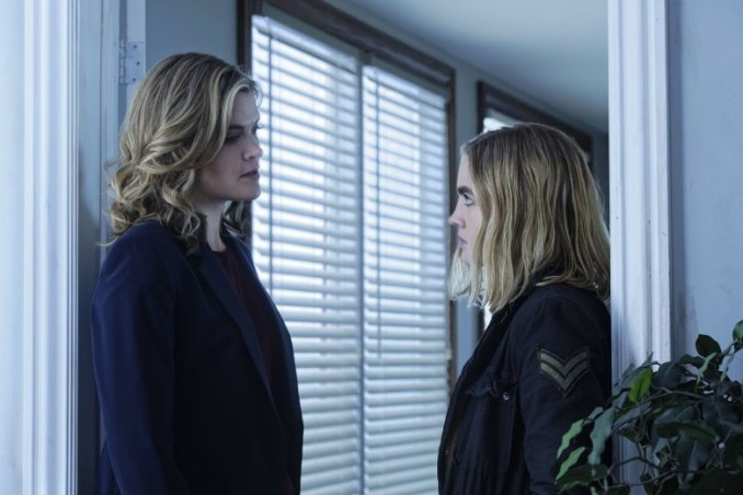 Missi Pyle and Maddie Hasson in Impulse
