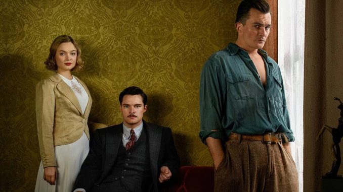 Bella Heathcote, Jack Reynor and Rupert Friend in Strange Angel