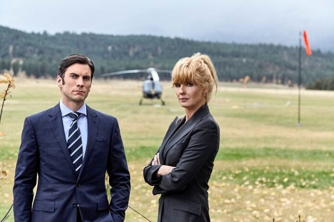 Wes Bentley and Kelly Reilly in Yellowstone