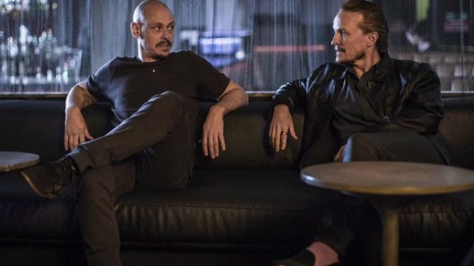 Scott Ryan and Damon Herriman in Mr Inbetween