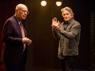Michael Douglas and Adam Arkin in Netflix's The Kominsky Method