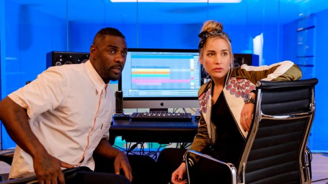Idris Elba and Piper Perabo in Turn Up Charlie