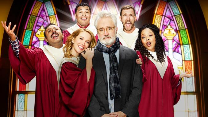 Bradley Whitford and some lesser talents in NBC's Perfect Harmony