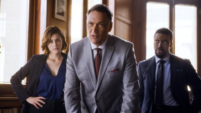 Caitlin McGee, Jimmy Smits and I'm going to guess Michael Luwoye in NBC's Bluff City Law