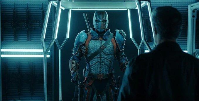 Esai Morales as Deathstroke in Titans