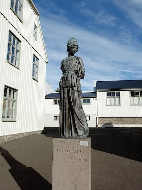 Athena in Reykjavik