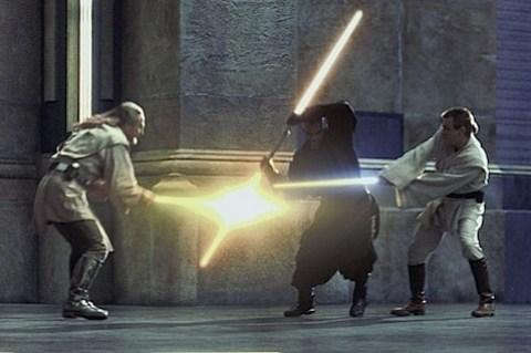 Liam Neeson in Star Wars