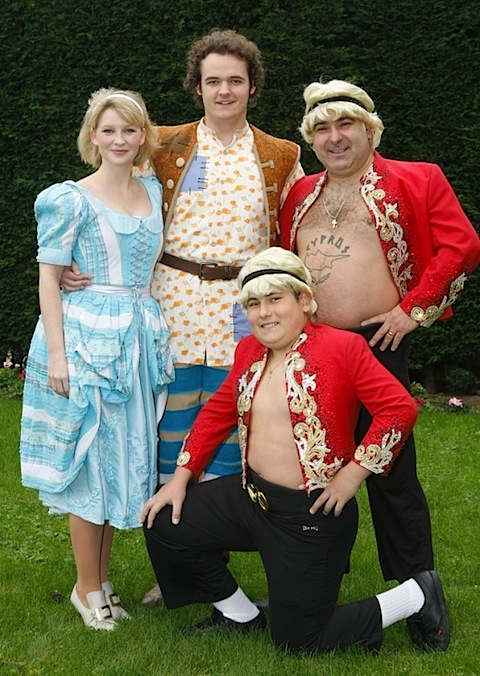 Joanna Page in panto