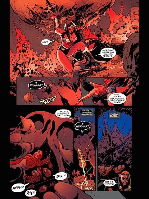 Wonder Woman saves Batman