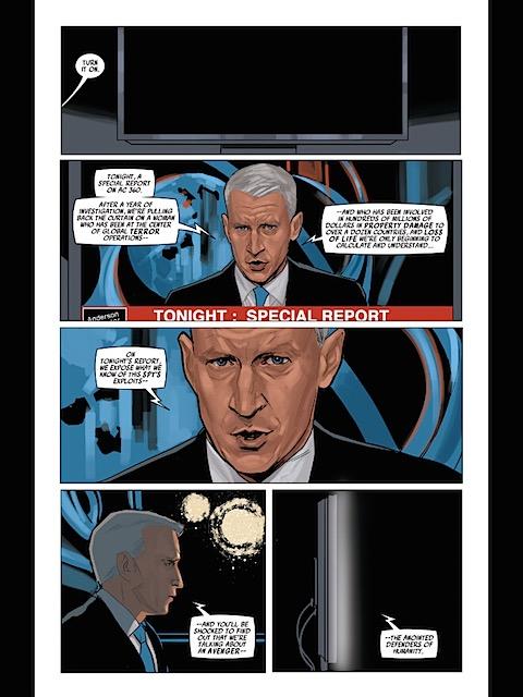 Anderson Cooper in Black Widow