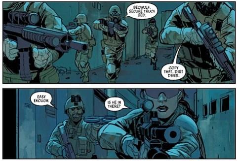 The Unit in Black Widow