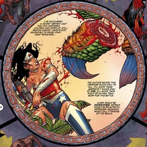 Wonder Woman mentions Clark