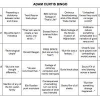 Play Adam Curtis bingo with HyperNormalisation!