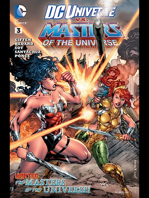DC Universe vs Masters of the Universe #3