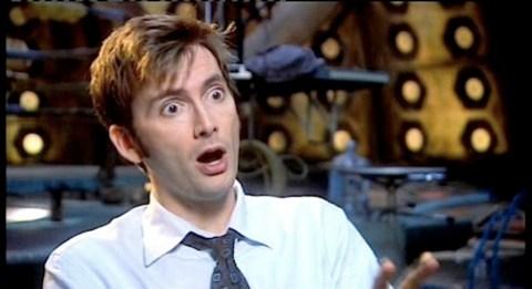 David Tennant shocked