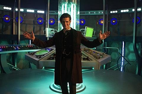 The new TARDIS console