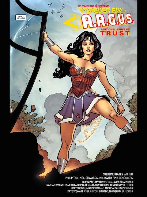 Wonder Woman rescues Steve Trevor