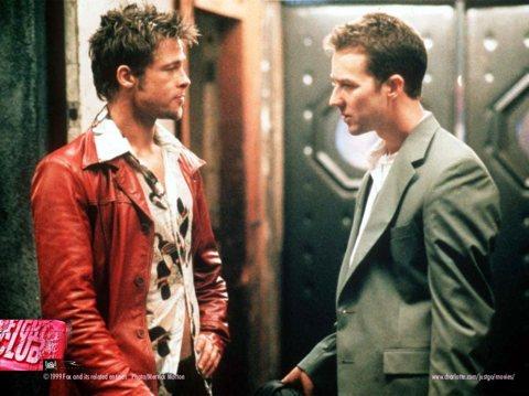 Brad Pitt and Ed Norton
