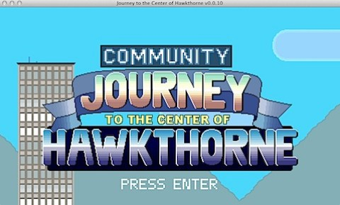Journey to the Center of Hawkthorne