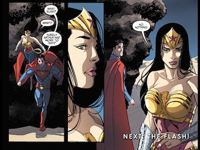 Wonder Woman lies