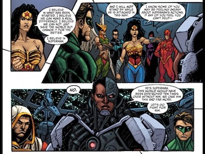 Wonder Woman Beaten Justice League Review: Wonder Woman #...