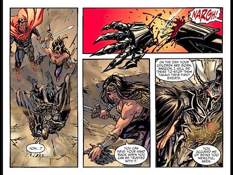 Wondy beats up Ares