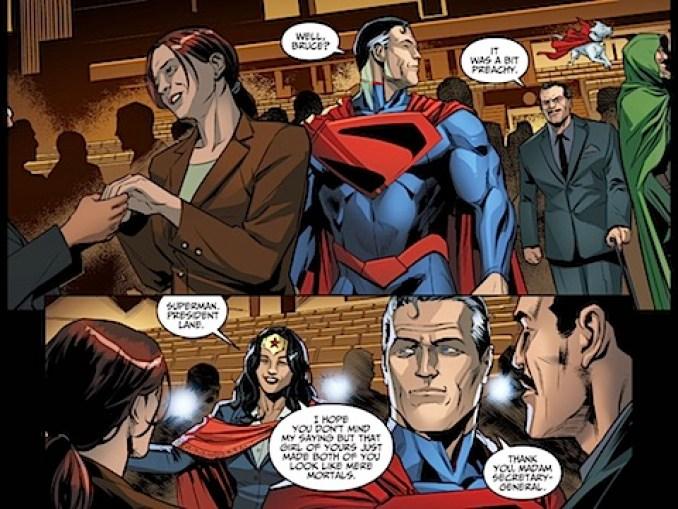 Secretary General Wonder Woman