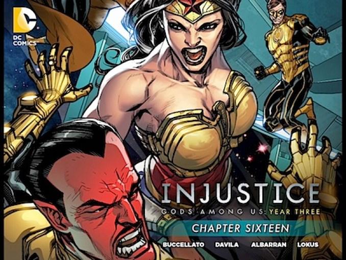 Injustice Gods Among Year Three #16