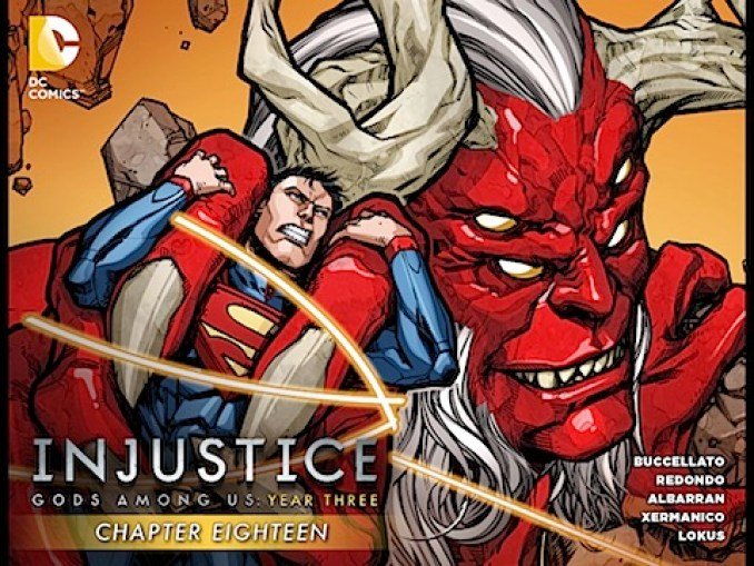 Injustice: Gods Among Us Year Three #18