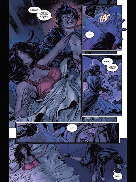 Wonder Woman awakes