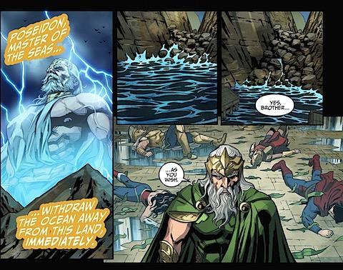Zeus commands, Poseidon obeys