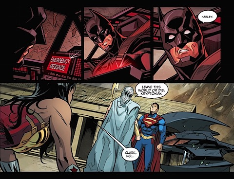 Superman refuses