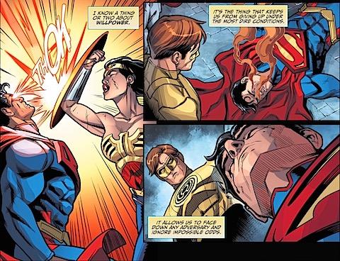 Diana hits Clark again