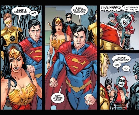 Superman is his own champion