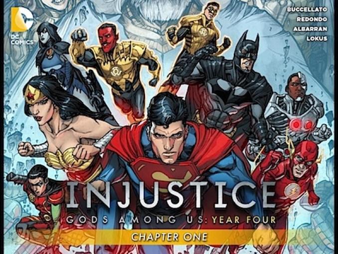 Injustice: Gods Among Us - Year 4 #1