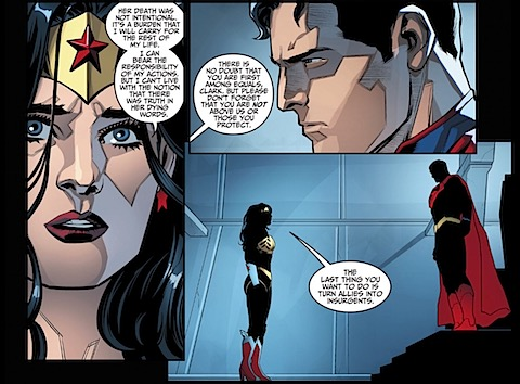 Wonder Woman counsels against dickishness