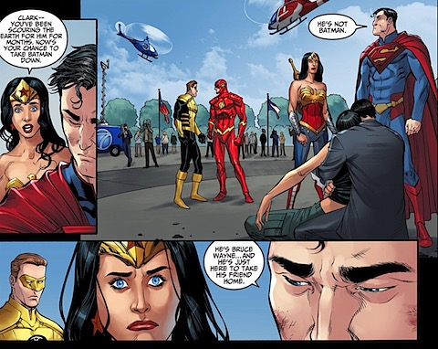 Wonder Woman lays down the law