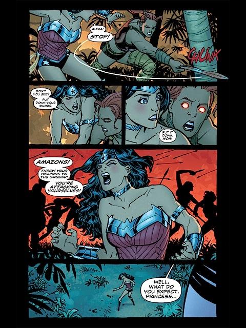 Wonder Woman being smart