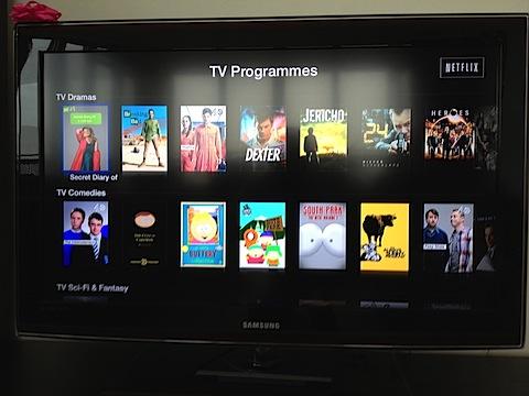 AppleTV Netflix