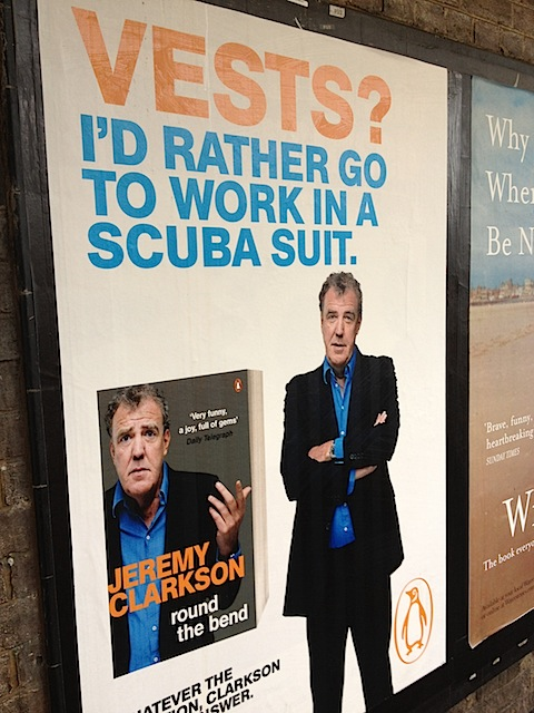 Jeremy Clarkson: Vests? I'd rather go to work in a scuba suit