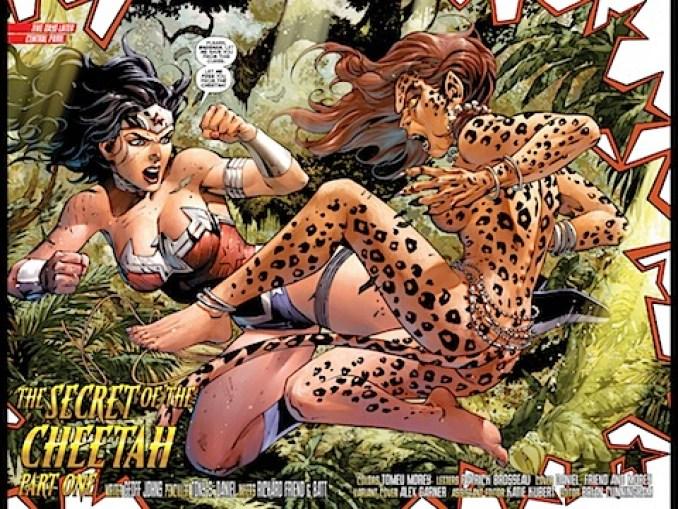 Wonder Woman against Cheetah